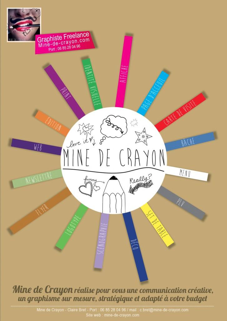 Flyer-mine-de-crayon